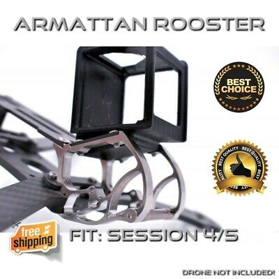 *BLACK* ARMATTAN ROOSTER Gopro SESSION 4/5 Mount for RACING DRONE FREESHIPPING