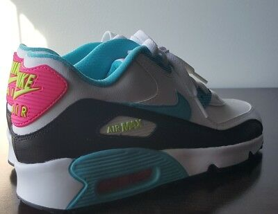 NEW NIKE AIR Max 90 Ltr =Gs Size 6.5Y = Kids Athletic Shoes
