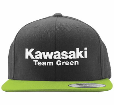 6348a01b Factory Effex Youth Kawasaki Team Green Hat Size Black/Green