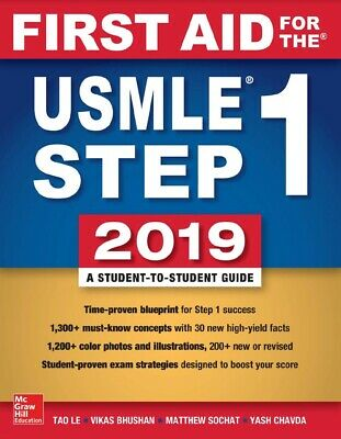 First Aid for the USMLE Step 1 2019 (PDF)