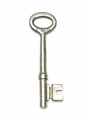 Antique Sargent & Co. Key F25 Old Mortise Door Lock Key #F25 Patent May 15. 1888