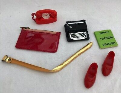 Vintage Ideal TAMMY Doll Outfit 9133-0 School Daze ALL ACCESSORIES Hard To Find!