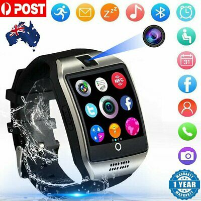 Hot Smart Watch Music Movement Curved Screen Q18 Card Call Bluetooth