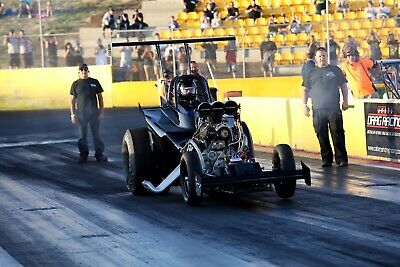 Supercharged outlaws Altered Drag car