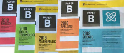 ICAS 2018 Past Papers Year 4 (Paper B) All subjects - Largest Number of Papers