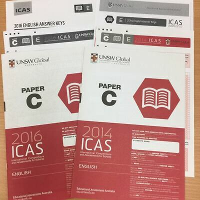 ICAS 2018 Past Papers Year 5 (Paper C) All subjects Largest no. of papers