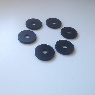 10 X RUBBER GUITAR STRAP LOCK WASHERS 5 PAIRS FREE POSTAGE TO UK