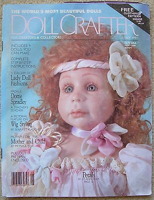 DOLL CRAFTER Magazine Porcelain Dolls & Clothes MAY 1991 Incl Patterns