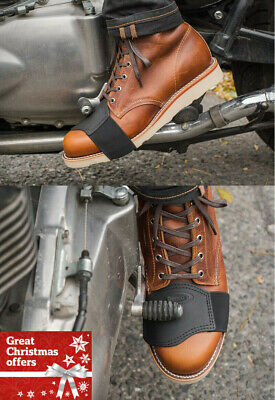 Motorcycle Motorbike Shoe Gear Shifter Boot Protector One Size Fit all guarantee