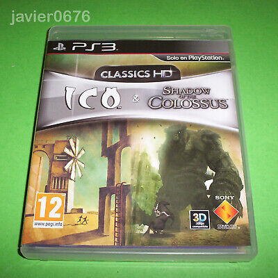 Ico & Shadow Of The Colossus Hd Collection Completo Pal España Ps3 Playstation 3