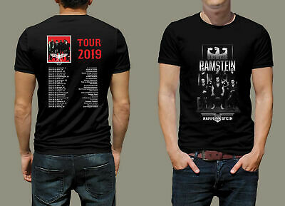 Rammstein World Tour 2019 T-Shirt M to 3XL