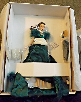 "SHAME SCARLETT O'HARA VIVIEN LEIGH TONNER GONE WITH THE WIND 16"" Doll COA MINT"