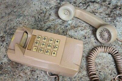 VINTAGE GTE AUTOMATIC ELECTRIC TOUCHTONE Wall Telephone - WORKING
