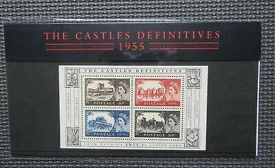 G.B Presentation Pack - The Castles  Definitives 1955 - Pk No. 69 22/03/05