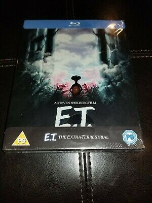 E.T. Steelbook Blu Ray Region Free UK