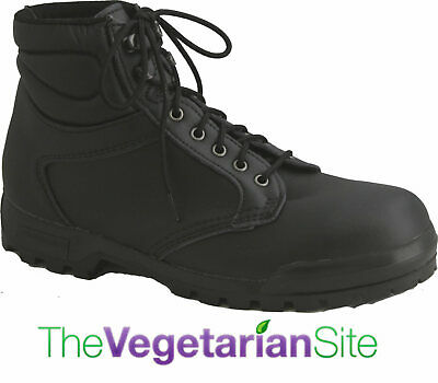 Ethical Wares Vegan Steel Toe Safety Boot Made in Italy - Fair Labor!