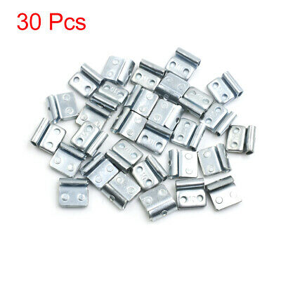10g Clip-on Metal Tyre Wheel Balance Weights for Motorcycle Car 19 x 19mm 30pcs