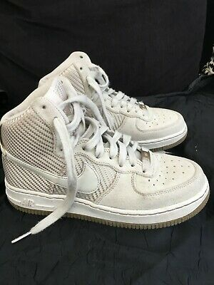 check out 0e7ae f600b BASKET MONTANTE NIKE AIR BEIGE Femme TBE POINTURE 37.5 TBE (MISE 2 FOIS)