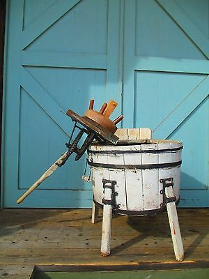 Wooden Washing Machine / See list of shippers provided below  ANTIQUE steampunk