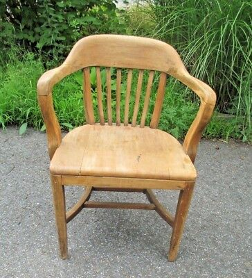 banker - lawyer - attorney ARM CHAIR vintage DELIVERY POSSIBLE kitchen - desk