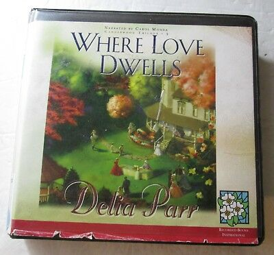 Where Love Dwells by Delia Parr (CD, Ex-Library, 2008) Candlewood Trilogy #3