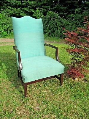 """LOLLING armchair CHIPPENDALE - form - FEDERAL 45-1/2"""" tall DELIVERY POSSIBILITY"""