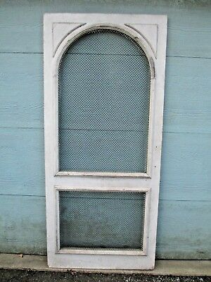 PANTRY DOOR vintage BRASS SCREEN country FRENCH - LOOK architectural SALVAGE old