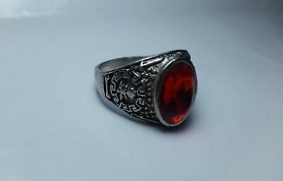Rare Ancient Antique Ring Roman  Stunning Artifact Type with Stone,viking ring