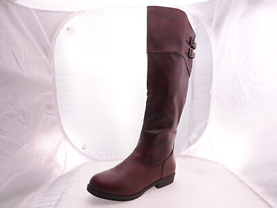 ca8fbae85 NEW JOURNEE COLLECTION Brinley Co Women's Brown Riding Boots US 11 M ...