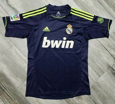 Real Madrid adidas Away Jersey 2012 Youth size Large 110 Years