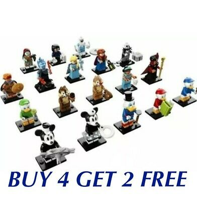 Lego Disney 71024 & 71012 Series 1 & 2**in Hand Now** (Choose Your Figure)New