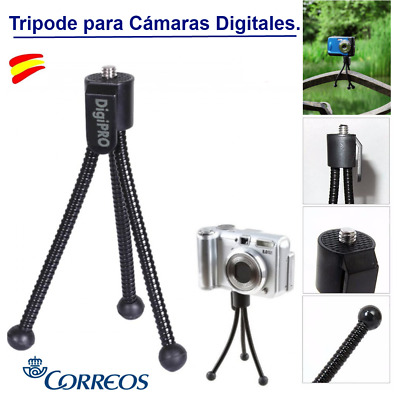 Mini Tripode Flexible Digipro Universal Para Cámara Digital Nikon-Casio-Samsung