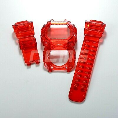 G-SHOCK GX/GXW-56 a.k.a King Band and Bezel Jelly Ice Custom Burning Red Colour