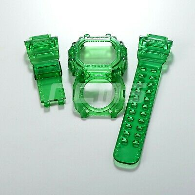 G-SHOCK GX/GXW-56 a.k.a King Band and Bezel Jelly Ice Custom Green Colour