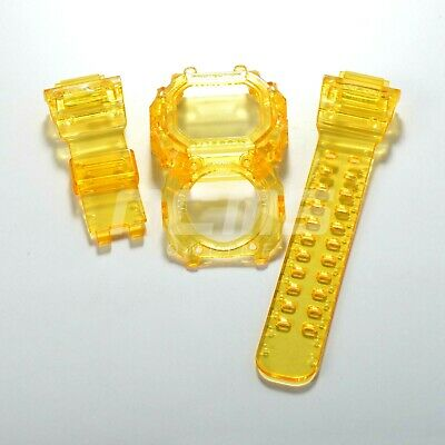 G-SHOCK GX/GXW-56 a.k.a King Band and Bezel Jelly Ice Custom Yellow Colour