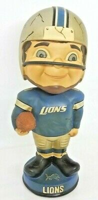 """Detroit Lions Retro Player NFL Football 7"""" Bobblehead Forever Collectibles"""
