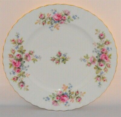 1-Royal Albert Moss Rose Salad Plate ( 3 Available)