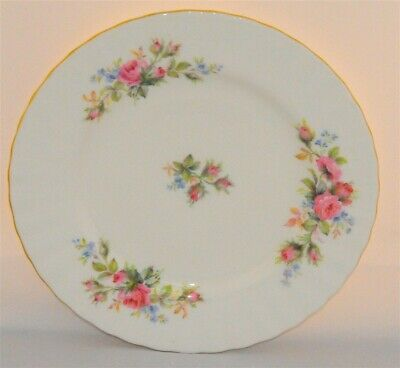 1-Royal Albert Moss Rose Tea Plate 7' Inches ( 4 Available)