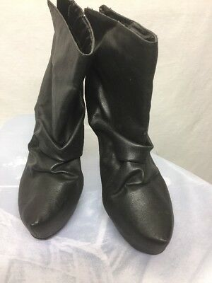 ba4bd205d99 Women s Heeled Ankle Boots by Toi et Moi - Black -New without Box Size 10M