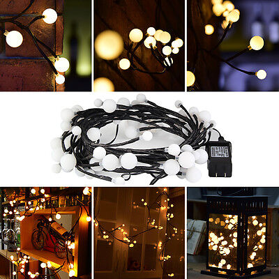 Responsible 1-5m Led Battery Power Flower Garland String Light Ip44 Waterproof Led Fairy Festoon For Party Home Christmas Wedding Decoration Home & Garden