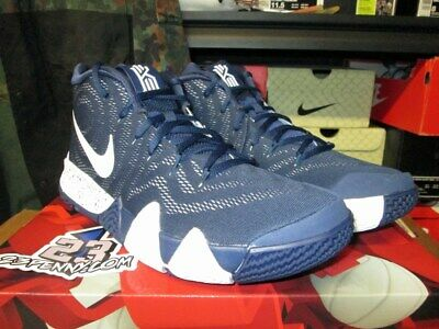 b1c349981d45 Sale Nike Kyrie 4 Tb Iv Team Bank Midnight Navy White Av2296 402 Sz 10.5  Irving