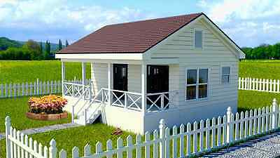 TINY HOUSE  Plans Small Home Crawl Space Foundation Homesteading Country Home CD