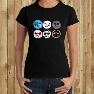 Hollywood Undead Rock Band Logo Womens New T-shirt