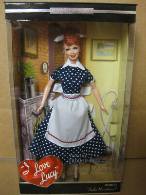 """I Love Lucy Lucille Ball Barbie Doll """"Sales Resistance"""" TV Show Episode 45 Mint"""