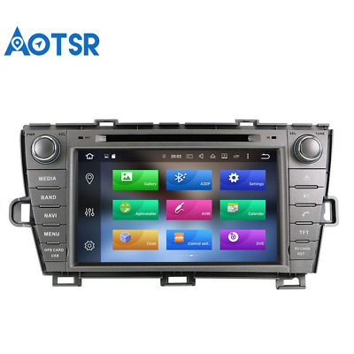 Android 9.0 2 Din WIFI Car GPS Navigation DVD Player for Toyota Prius 2009-2013
