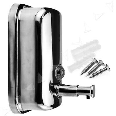500ML 304 Stainless Steel Soap/Shampoo Dispenser Wall Mounted Shower/Bathroom