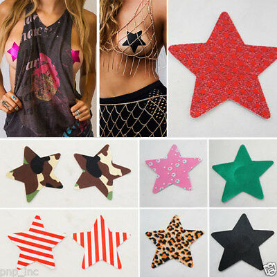 Nippies Gold Pasties Burlesque Nipple Tassels with Reusable Adhesive-Pink Feather