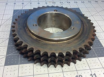 Browning T40Q42 Bushing Bore Roller Chain Sprocket  #62858
