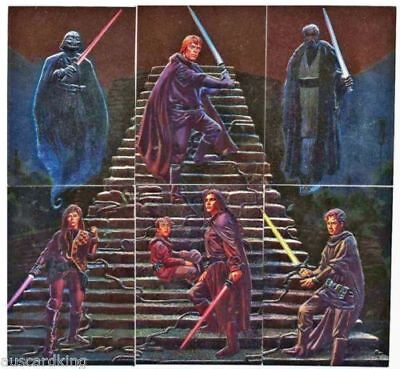 Star Wars Finest - Complete Chase Foil Card Set (6) - Topps 1996 - NM