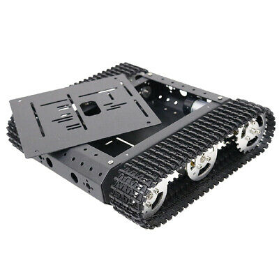Obstacle Avoidance Double Shock Absorption Robot tank Chassis Car
